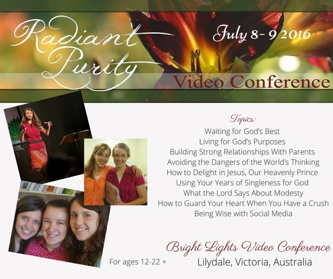 Radiant Purity Conference Promotional